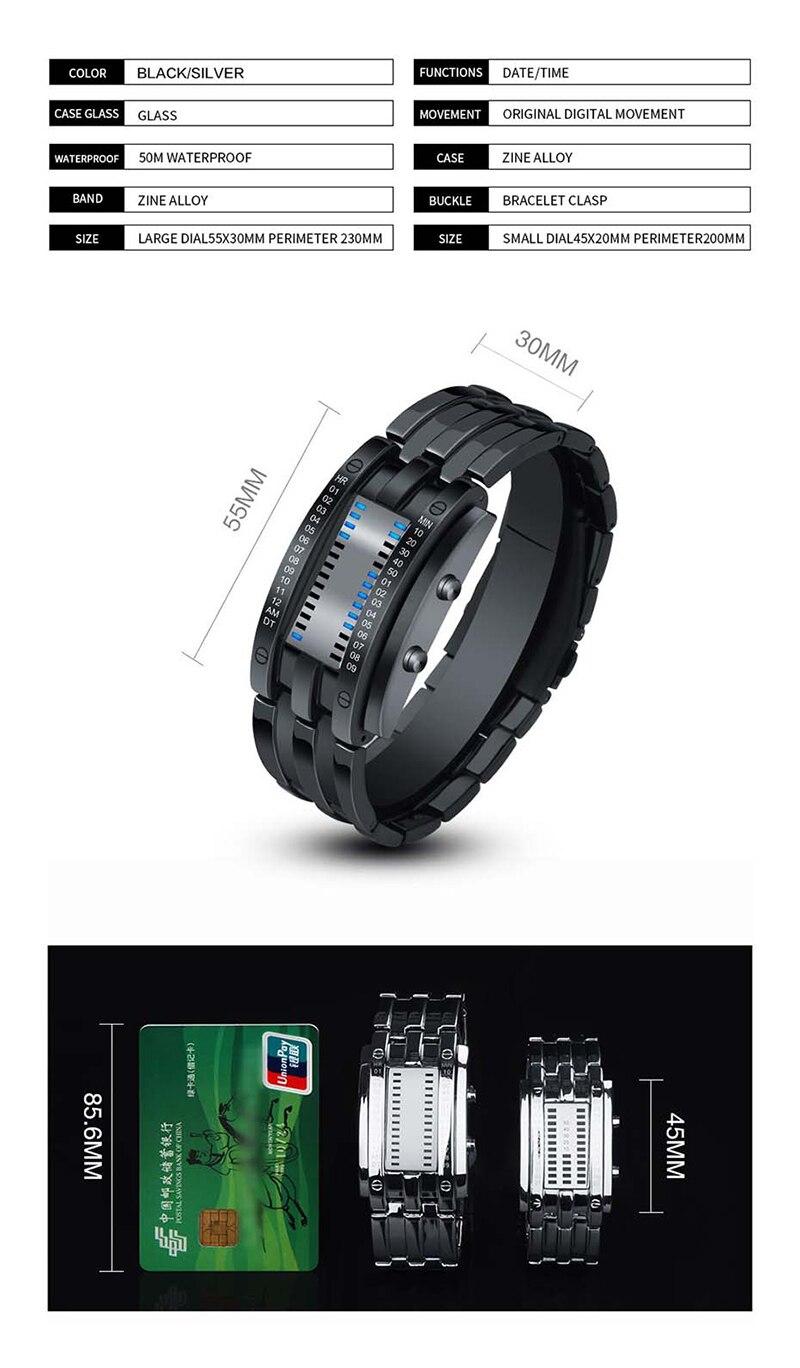 SKMEI Watch Men 2019 Top Creative Men\`s Waterproof Digital Watches Display Lover\`s Male watches relogio masculino (3)