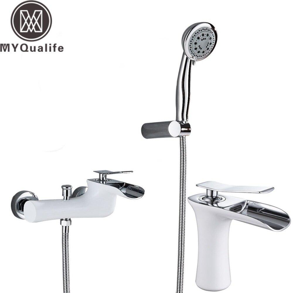 Suguword Bathroom Shower Mixer Set Faucet Valve With Square 12