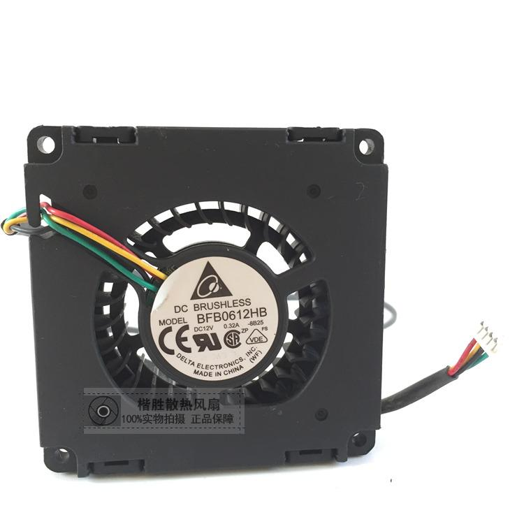 Delta Electronics BFB0612HB -8B25 Server Cooling Fan DC 12V 0.32A 60x60x15mm 4-wire