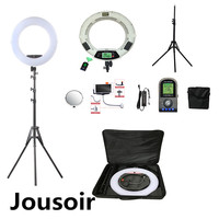 White FE 480II 5500K Dimmable Camera Photo/Studio/Phone/Video 18 96W 480 LED Ring Light LED Lamp+200cm tripod +BaG CD50