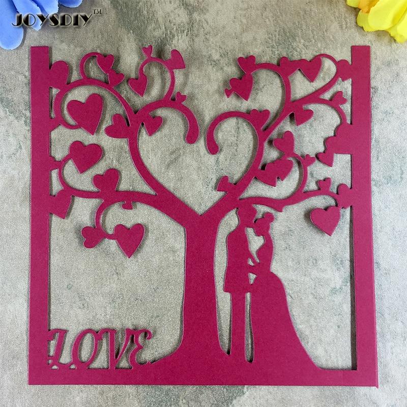 Large Size Wedding Scrapbook cutting dies Metal Die cutting Die For DIY Scrapbooking Photo Album Embossing Folder Stencil 16cm