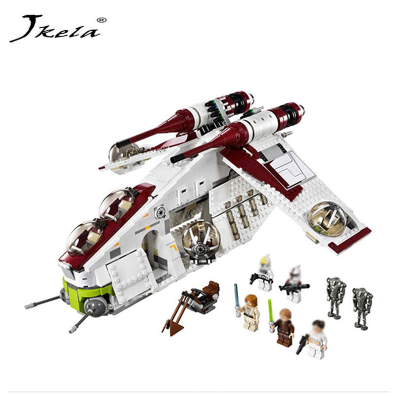 [Hot] 1175pcs 05041 Star wars Building Bricks set Coruscant Police Gunship Compatible legoINGlys 75021 blocks birthday Gift gdstime 10 pcs dc 12v 14025 pc case cooling fan 140mm x 25mm 14cm 2 wire 2pin connector computer 140x140x25mm