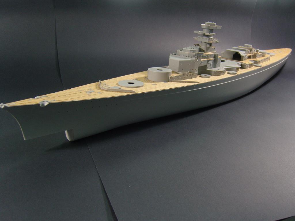 ARTWOX 03702 battleship Bismarck Trumpeter wood deck AW30003