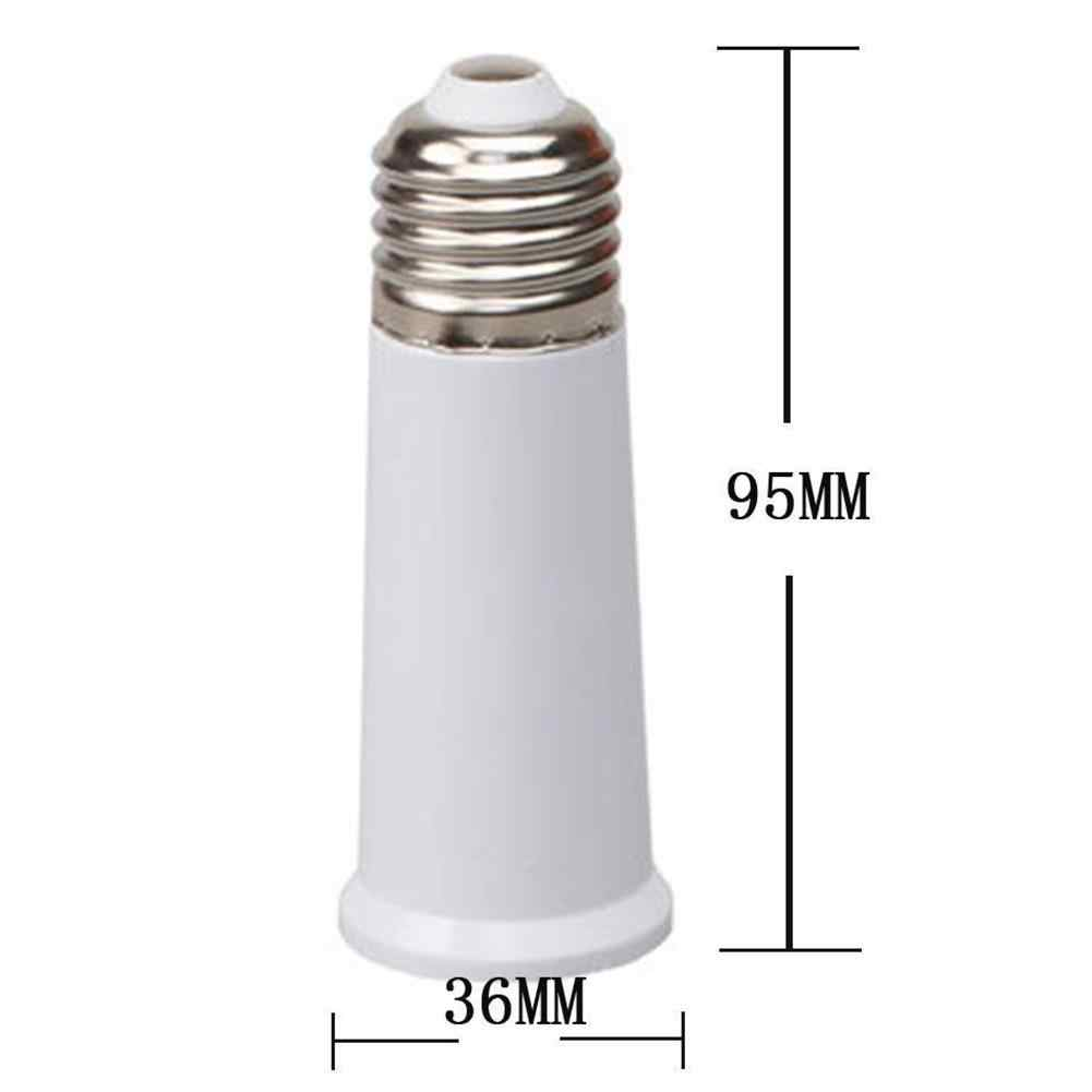 HobbyLane 220V 1pcs ממיר E27 כדי E27 65mm להאריך שקע באיכות גבוהה חסין אש PBT שקע מתאם מנורה מחזיק
