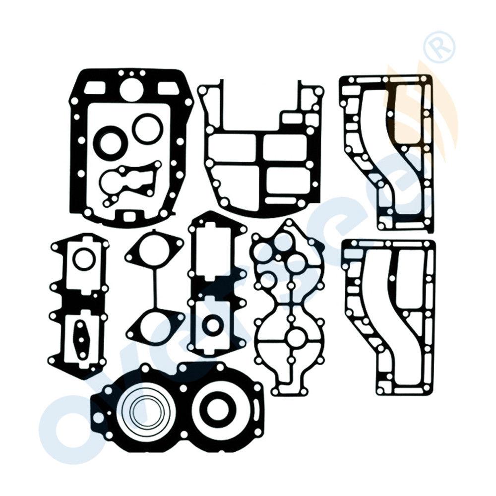 6R6-W0001-00 Outboard Gasket Kit, Powerhead For Yamaha Outboard Motor 40hp 2cyl6R6-W0001-00 Outboard Gasket Kit, Powerhead For Yamaha Outboard Motor 40hp 2cyl
