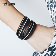 Wrap Leather Bracelet For Women