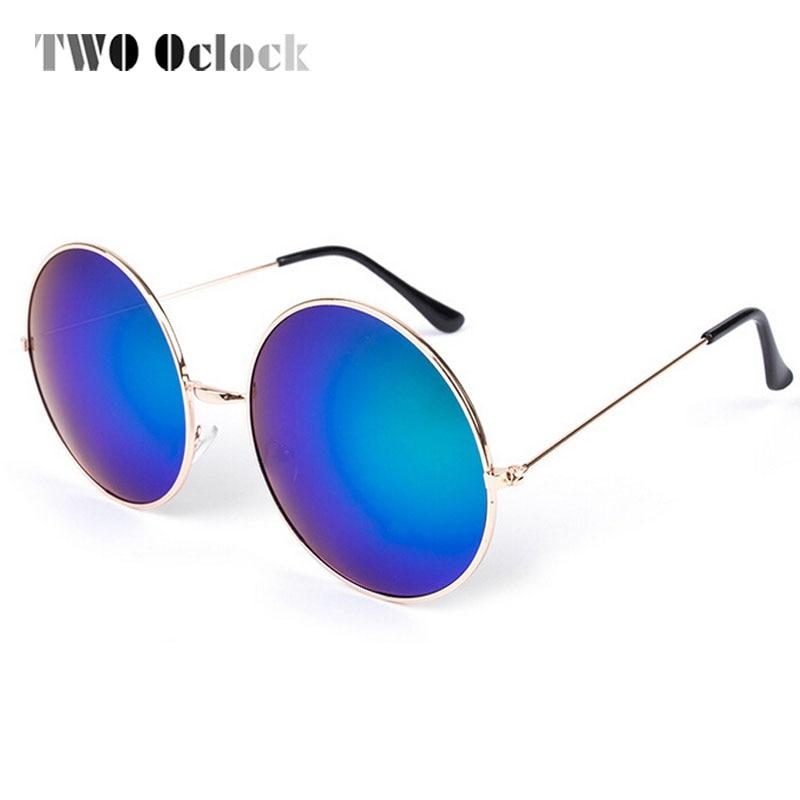 Barato Revestimento Moda Óculos de sol Anti UVA Proteção, Mulheres Rodada  Óculos De Sol Grande Quadro óculos de Sol Reflexivos Homens Óculos de  grandes ... f03587aa1b