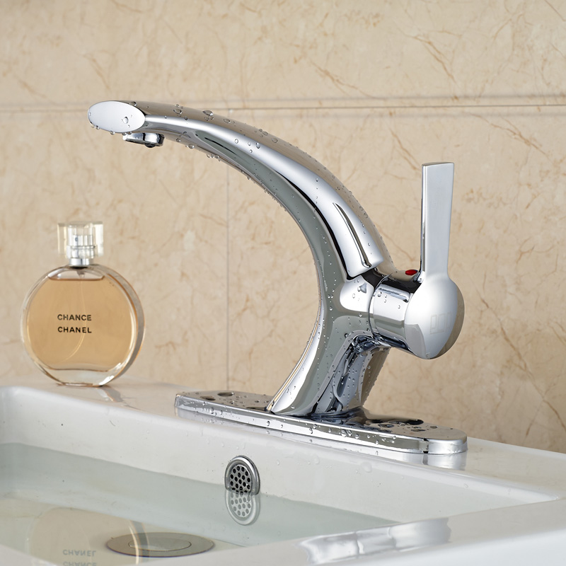 New Arrival Best Quality Vessel Sink Faucet Brass Single Handle Two ...