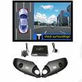Sistema WEIVISION 360 Grados Panorámica Vista de Pájaro, Grabación DVR del coche, surround sistema de visión para Toyota Prado, Land Cruiser