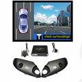 WEIVISION Panorama de 360 Graus Bird View System, Gravação DVR carro, surround sistema de visão para Toyota Prado, Land Cruiser