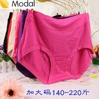 XXL 5PCS/LOT Plus size wid waist women's panties bamboo fibre lady's briefs comfortable lingerie