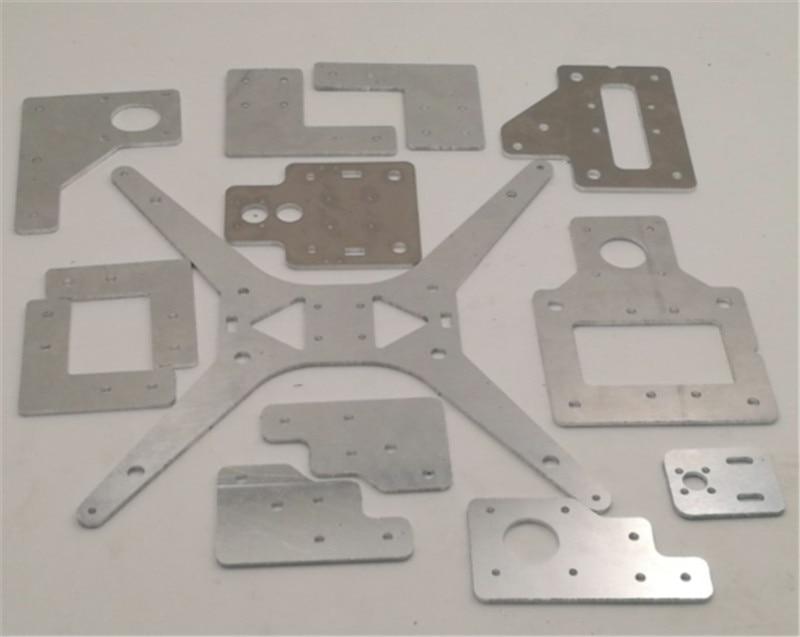 все цены на Funssor aluminum Tarantula/HE3D steel aluminum plate upgrade parts kit for Tarantula/HE3D EI3 single extruder DIY 3D printer онлайн