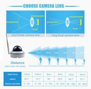 Image 5 - Wifi IP kopuła na zewnątrz kamera ochrony bezprzewodowej 720P 1080P SONY CMOS Onvif gniazdo kart sd 64G P2P IR Cut CCTV kamera ochrony domu