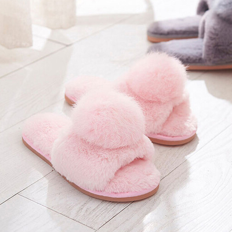 Popular Womens Fur Slippers Buy Cheap Womens Fur Slippers