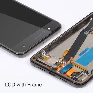 Image 5 - עבור שיאו mi mi 6 LCD מסך + מסגרת + טביעות אצבע חיישן עבור שיאו mi mi 6 תצוגת 10 מגע מסך עצרת החלפת חלקי תיקון