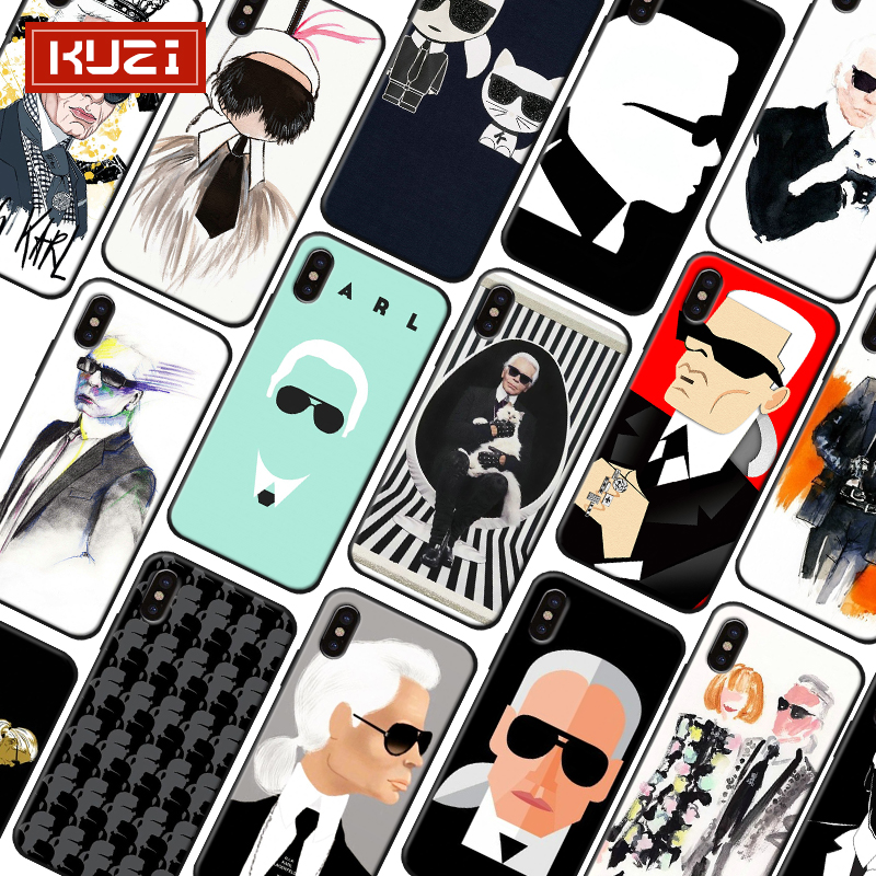 KUZI for Apple IPhone 7 Case TPU for IPhone X 7 6 6S 8 Plus 6 S Case Cover X XS Coque Luxury Phone Case Silicone Fundas Capa in Half wrapped Cases from Cellphones Telecommunications