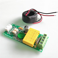 PZEM-004T New Version TTL Power Energy Watt Meter AC 220V 100A Electricity Volt Amp PF Frequency Kwh Voltmeter For Arduino CT