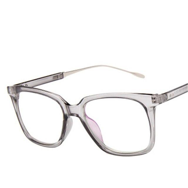 e5c236ed27261 New Design Crystal Clear Frame Transparente Geral Óculos De Acetato de Olho  Quadrado Espetáculo Quadro Lente