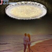 ZYY Современные круговой Творческий потолочный светильник простой кристалл лампы для дома гостиная Спальня ресторан с светодиодные лампы DHL