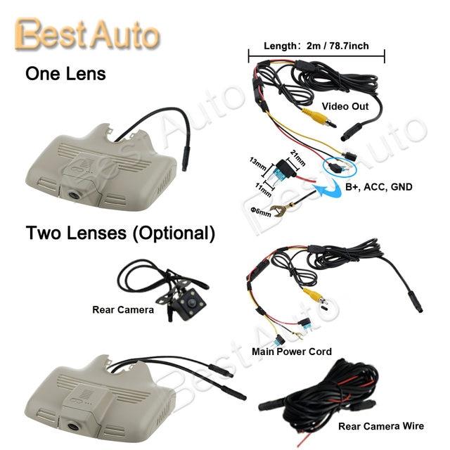 APP Control Car Wifi DVR Camera for Mercedes Benz C300/CLC 2015 Sport  Version 2015 Hidden Installation Sony IMX323 Novatek 96658-in DVR/Dash  Camera