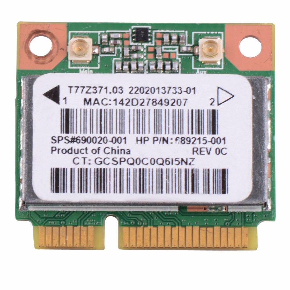 Сетевые карты для ноутбука беспроводная WiFi карта RT3290 690020-001 подходит для hp Pavilion Sleekbook сетевые карты VCA65 P79