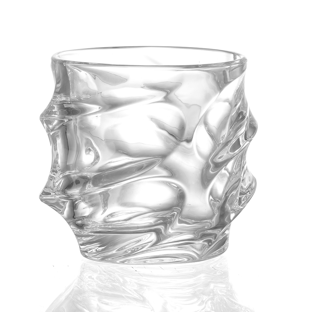 Old Fashion Whirlwind Whiskey Glass 2