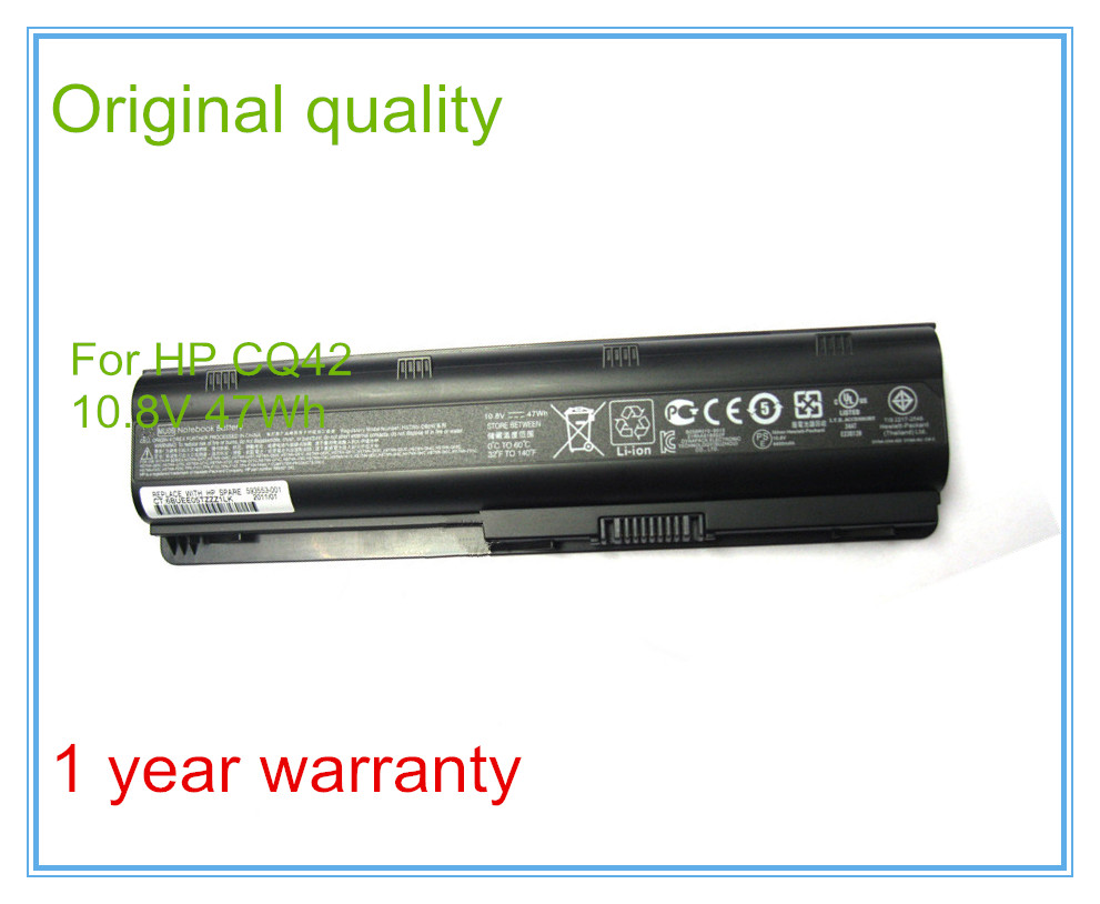 Original Laptop Batteries for G4 G6 G7 CQ42 CQ32 G42 CQ43 G32 DV6 DM4 430 Batteries 593553-001 MU06 5200mah dm4 laptop batteries for hp pavilion cq42 cq32 g42 cq43 g32 dv6 g4 g6 g7 batteries 593553 001 mu06