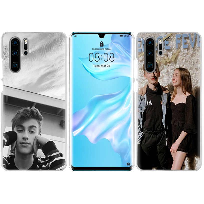 Johnny Orlando Case for Huawei P20 P Inteligente Z Mais Nova 5 5i P30 P10 P9 P8 Companheiro 10 20 lite Pro 2019 Moda Duro Tampa Do Telefone Cas