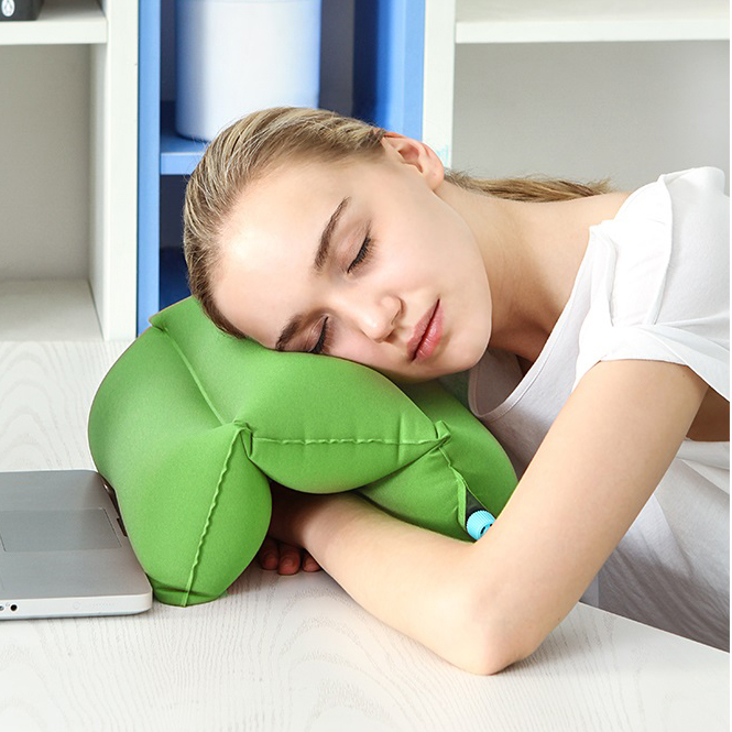 1 pcs comfortable desk rest arm glove pillow flight travel The more pillows you sleep with