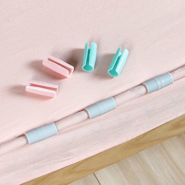 12PCS Household Quilt Anti-slip Clip Short Type Length 4 Cm Household Merchandises Bedroom Furniture Set Free Shipping 1