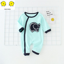 Newborn Baby infant Toddler Boy Girls  Long Sleeved Rompers Clothes New Born Girl