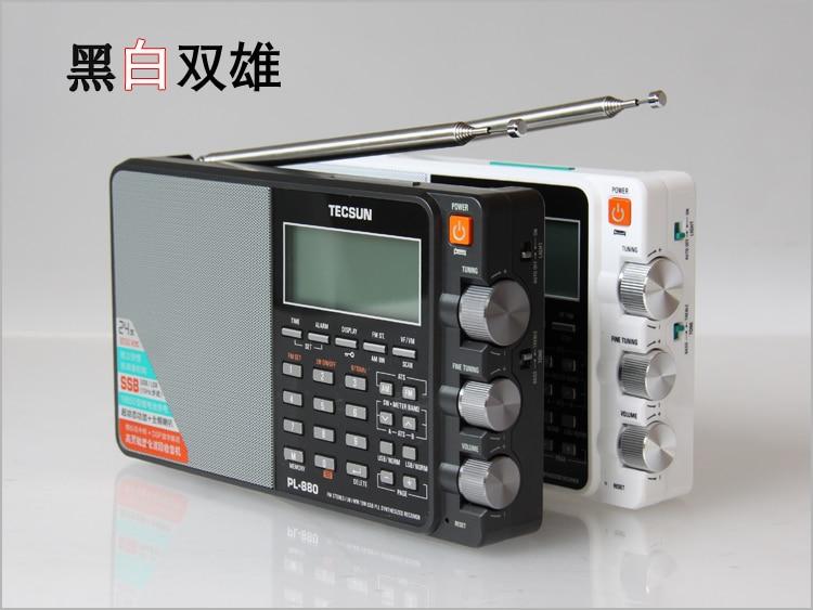 Free Shipping New Arrival Tecsun PL880 PL-880 FM radio DSP Stereo Speaker High quality Radio