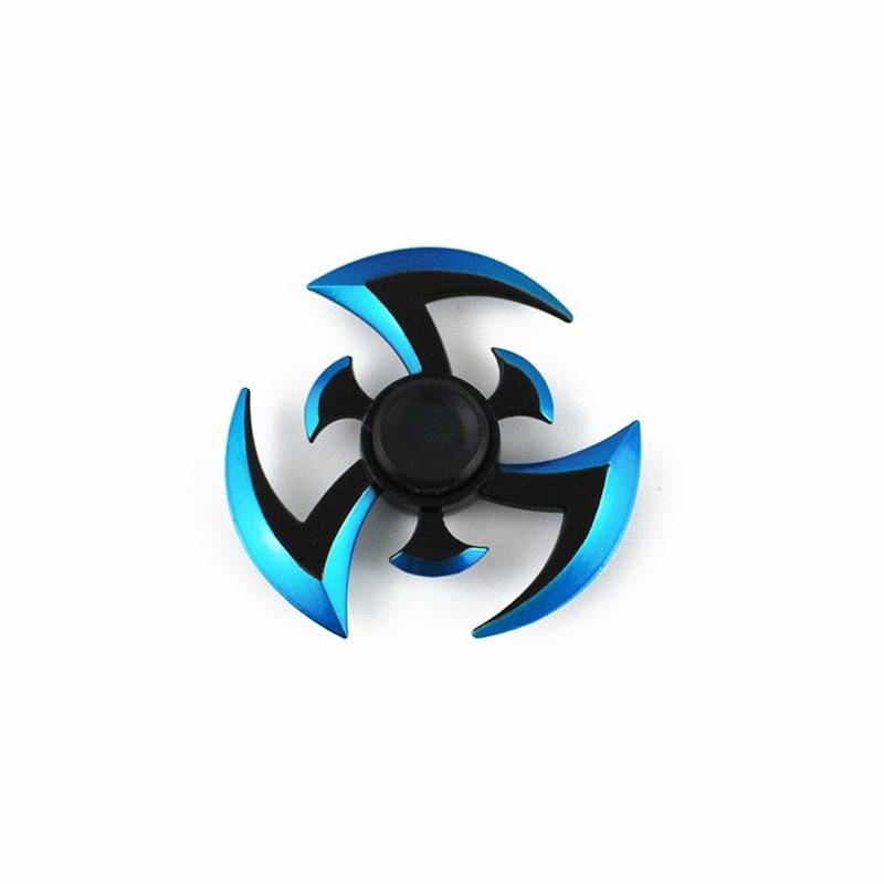 Fidget Gyroscope Spinner Naruto Finger Spinner Tri Spinner  Which Long Spinning For Kid/Adult Toys Antistress Ring