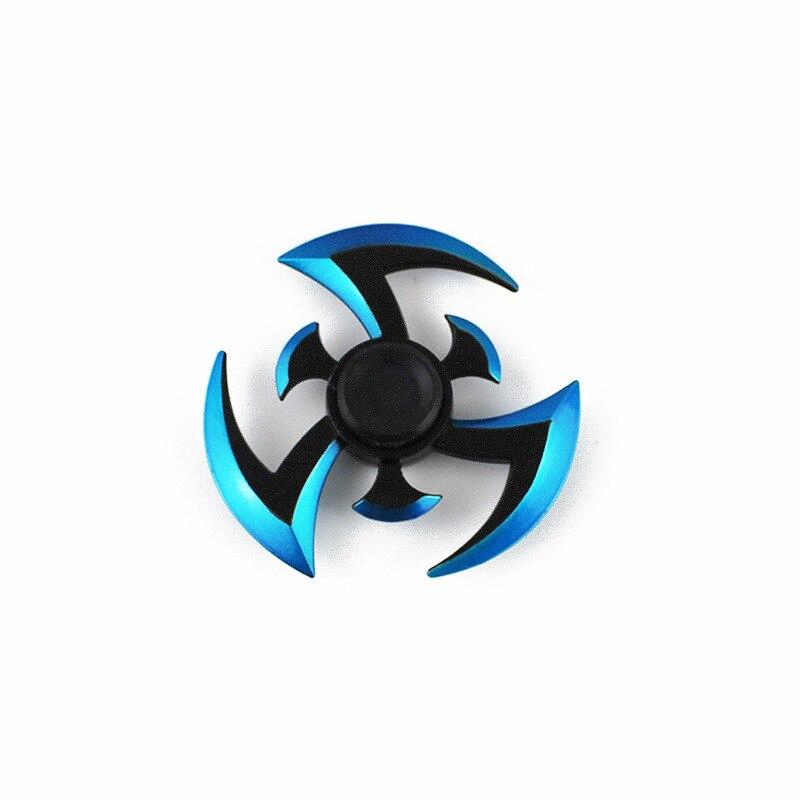 Spinner de doigt de Naruto de fileur de Gyroscope de Fidget qui tourne longtemps pour l'anneau antistress de jouets d'enfant/adulte