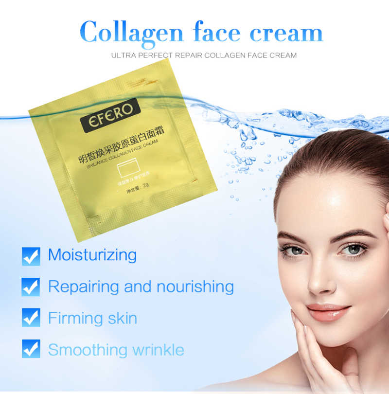 Efero 5 PC Cream Pelembab Wajah Hyaluronic Acid Kulit Perawatan Esensi Anti-Aging Serum untuk Wajah Whitening Cream Anti -Kerut TSLM1