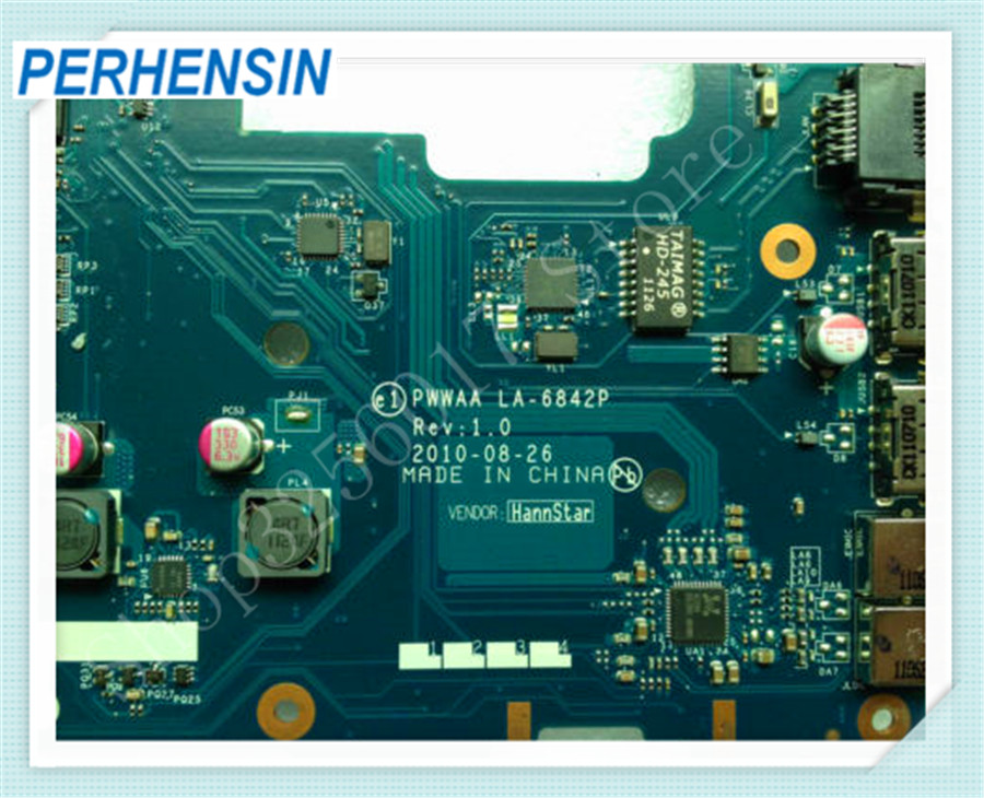 все цены на For Toshiba C660 C660-1F1 Laptop MOTHERBOARD PWWAA LA-6842P DDR3 онлайн