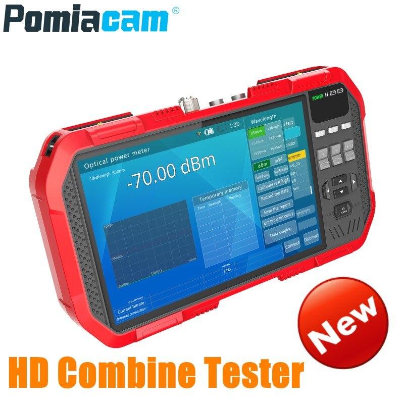 Profesjonalne HD łączą w sobie Tester DT A86 7 Cal H.265 4 K IP Tester kamery 8MP TVI CVI 5MP AHD CVBS Tester CCTV monitor multimetr w Monitory i wyświetlacze do telewizji przemysłowej od Bezpieczeństwo i ochrona na  Grupa 1