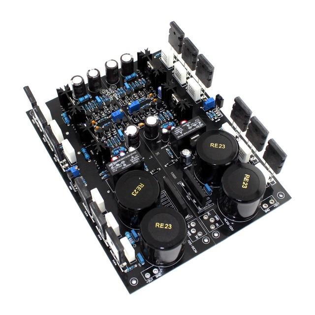 A2 FET tam simetri güç amplifikatörü kurulu (1 çift bitmiş panoları) kullanarak orijinal TT1943/TT5200