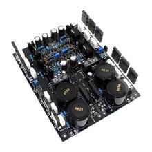 Placa amplificadora de potência de simetria completa a2 fet, 1 par de placas terminadas, utilizando o original tt1943/tt5200