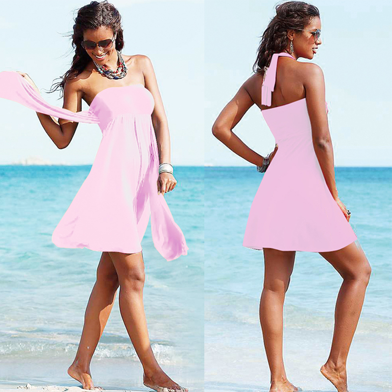 2017 newest long cover up sexy boys swimwear girls dress for beach ...