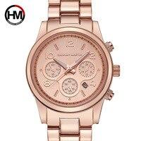 Watch for lady women business steel calendar lazada rose gold wholesale cross border Watch like Mk watch