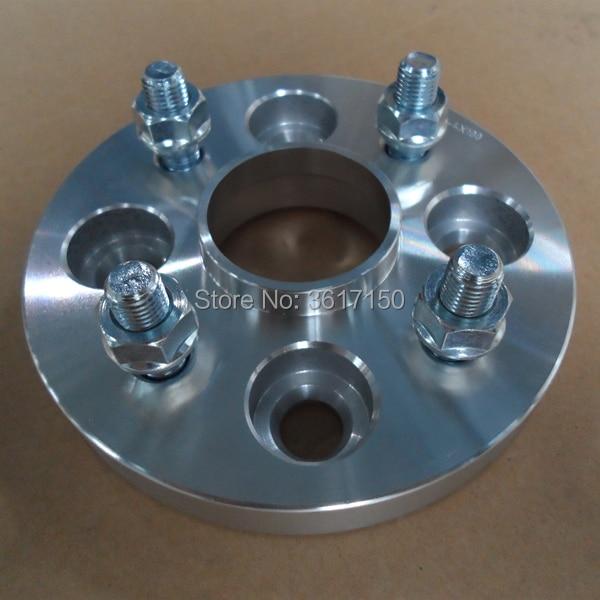 25mm Spoorverbreders/adapters Pcd 4*114.3 4*114.3 Cb 67.1-67.1mm Wiel Studs M12x1.5 Zacht En Antislippery