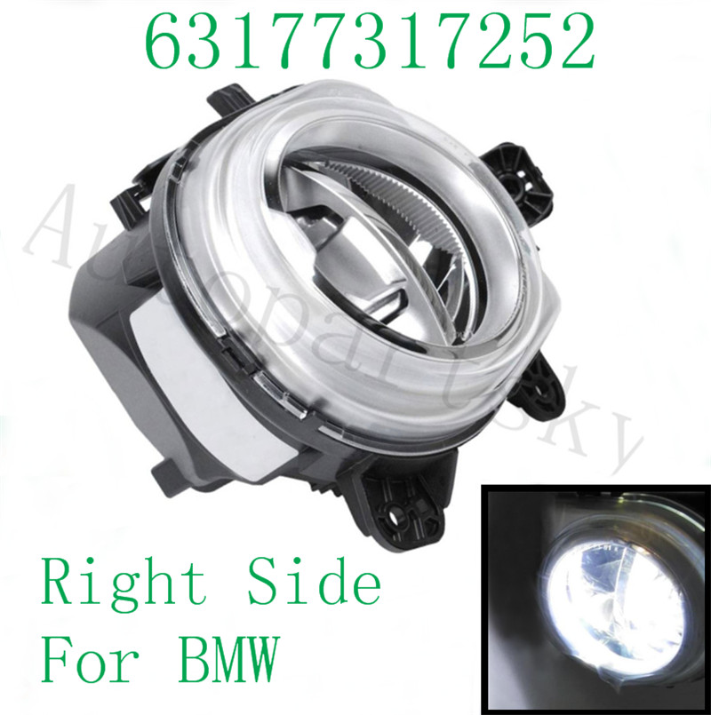 Good Quality For BMW Repair Replace Fog Light Lamps Right Side RH LED Light 63177317252
