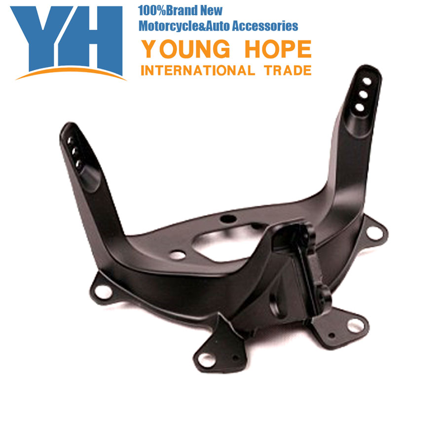 For  Yamaha 2003-2009  YZF R6 Aluminum Upper Fairing Stay Bracket 02 03, Chinese Motorcycle Spare Parts Accessory yamaha dbr15
