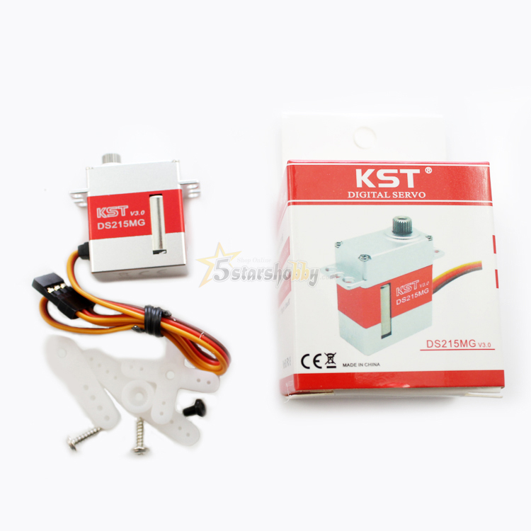 Free Shipping KST DS215MG V3 0 Digital servo for RC 450 480 Helicopter