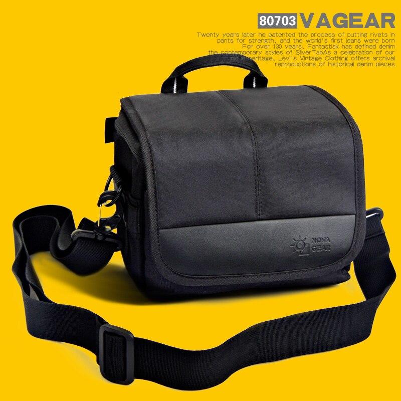 NOVAGEAR 80703 DSLR sac pour appareil Photo sac bandoulière pour Sony DSLR appareils Photo nex5t a5000l a7 a5100 a6000
