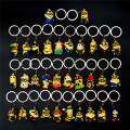 2016 Minions Toy Doll Minions Keychain PVC Mcdonalds Toys Minions Action Figure 50pcs/lot