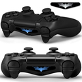 New Batman Design Removable LED Light Bar Cover Vinyl Decal Sticker For PlayStation 4 PS4 Controller