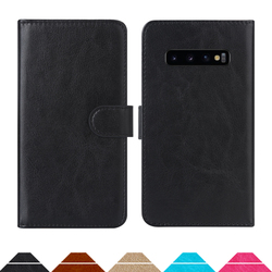 На Алиэкспресс купить чехол для смартфона luxury wallet case for samsung galaxy s10+ exynos 9820 snapdragon 855 pu leather retro flip cover magnetic fashion cases strap