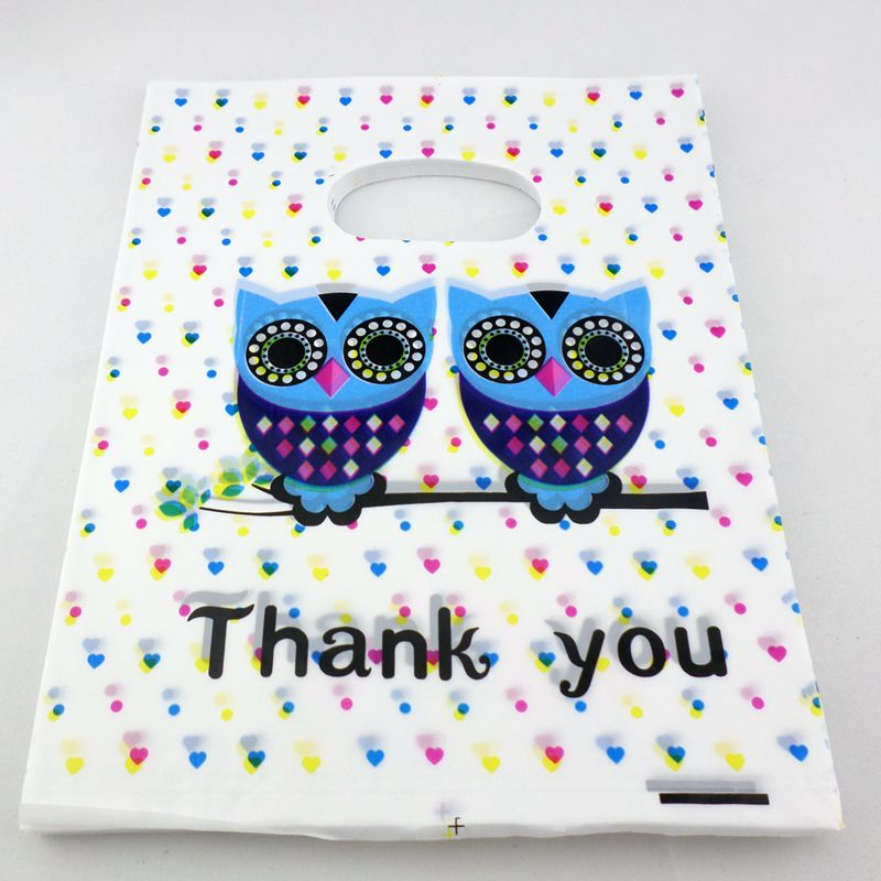 15X9CM 15X20CM Pouches Bag Plastic Wedding Party Birthday Candy Packing Gift Bag
